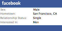 Facebook: Helping Gay People Come Out to the World