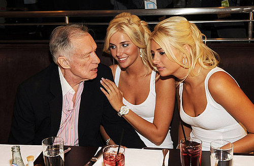 Say What? Hugh Hefner Keeps His Eye on the Mark