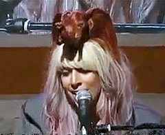 Lady Gaga's Hair Elephant Suggests She's Running Out of Ideas!