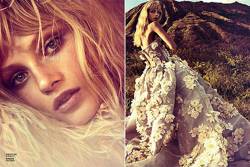 The Best Model For July Magazines - Anna Selezneva in Chinese Vogue