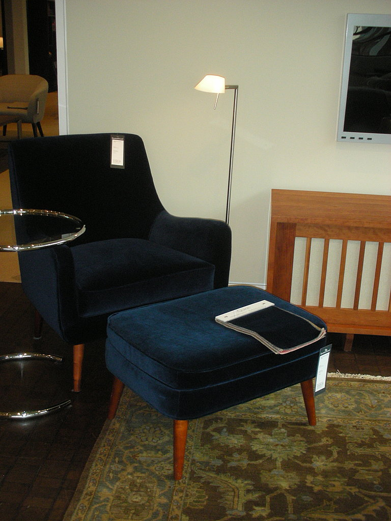 My love for the Quinn Chair ($749) was affirmed when I saw it in person.