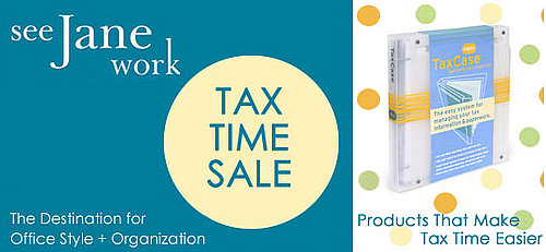 Sale Alert: See Jane Work Tax Time Sale