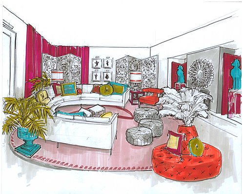 Barbie Celebrates Her 50th in a Jonathan Adler Dream House