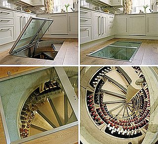Cool Idea: Spiral Wine Cellars