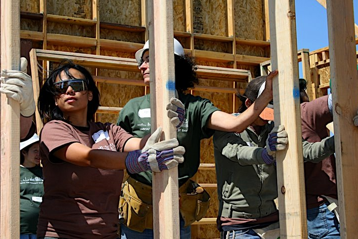 Give back to your community by participating in Habitat For Humanity's volunteer program. The East Bay HFH branch is holding a Build-a-Thon on Earth Day.