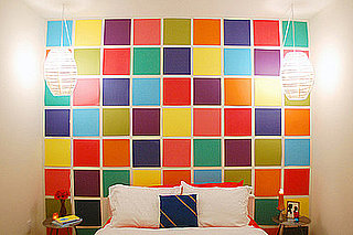 Cool Idea: A Bright and Fantastic DIY Wall