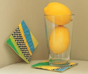 Sew, Mama, Sew! shows you how to whip up these cocktail napkins.