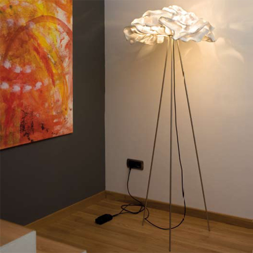 You'll be on cloud nine with the Arturo Alvarez Nevo Floor Lamp ($3,595) lighting up your home.
