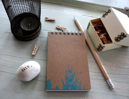 Etsy Find: Handmade Letterpress Notebook