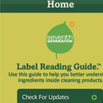 Label Guide App Defines Chemicals in Cleaning Products