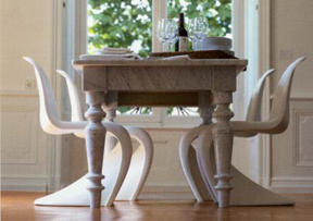 Love It or Hate It? Modern Chairs With a Traditional Dining Table