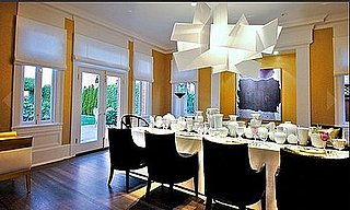 Get the Look: Dramatic Dining Room