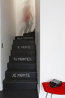 Love It or Hate It? Tiled Text Staircase