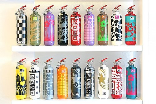 Cool Idea: Fire Design Extinguishers