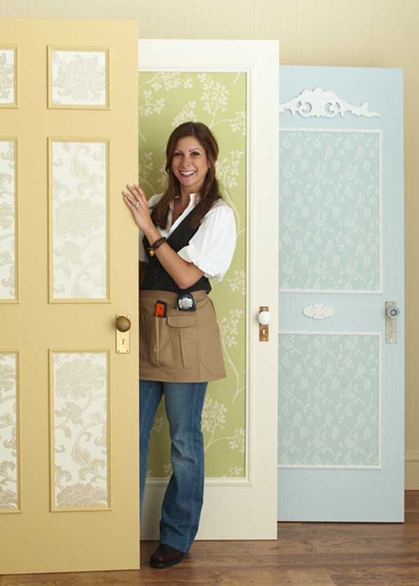 Try some easy door updates with Country Home.