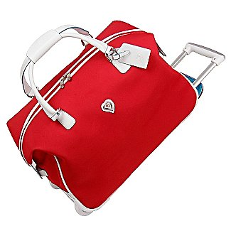 Diane von Furstenberg Luggage - Hearts 2 Collection Solid Wheeled City Bag S50423WD - Luggage Online