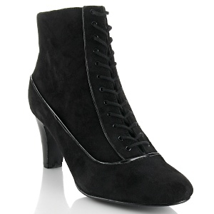 Loulou de la Falaise Suede Lace-Up Bootie at HSN.com $69.90