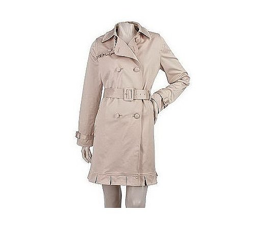 Edition by Erin Fetherston Trench Coat with BoxPleat Hem, QVC.com, $111