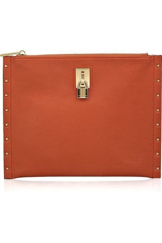 Marc Jacobs|Large flat leather case|NET-A-PORTER.COM