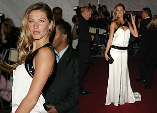 The Met's Costume Institute Gala: Gisele Bundchen