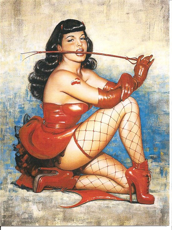 ~DEVILISH BETTIE PAGE~ Rate this blank card!