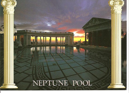 ~Neptune Pool @ Hearst Castle in Ca.~ Rate this postcard!