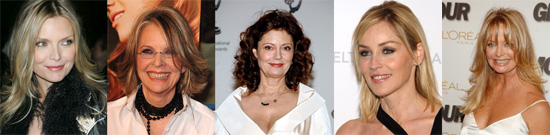 Dear Poll: Which Leading Lady Is Aging the Most Gracefully?
