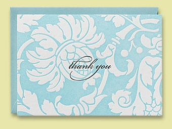 The How-To Lounge: Wedding Thank you Notes