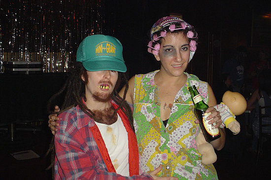 Halloween Costume: Trailer Trash Couple