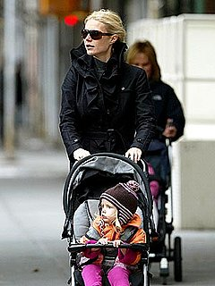 Mommy Gwyneth takes a Stroll