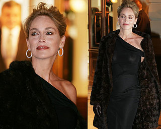 Sharon Stone Tries Too Hard