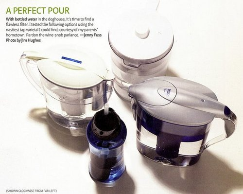 Water Filters - Comparison and Ratings