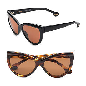 Tom Ford Eyewear - Anouk Cat's-Eye Sunglasses - Saks.com