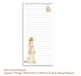 "Simply Fab: Mermedia ""Fab"" Notepad"