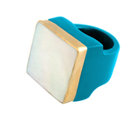 turquoise-Square-Mop-ring