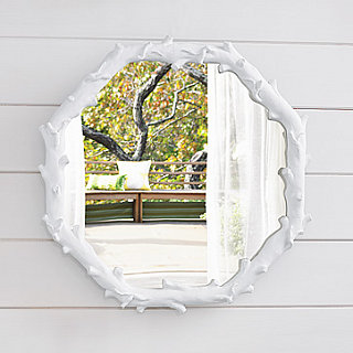 Simply Fab: West Elm Faux Bois Mirror