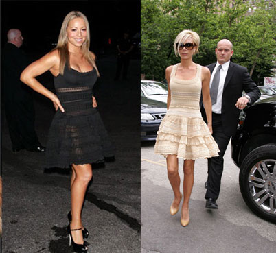 Who Wore It Better? Azzedine Alaia Ruffle Frock