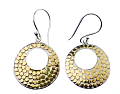 The Look For Less: Anna Beck Armadillo Open Disk Earrings