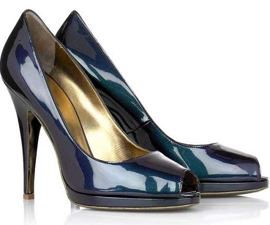 Roberto Cavalli Iridescent Leather Pumps: Love It or Hate It?