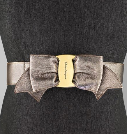 Salvatore Ferragamo Leather Bow-Tie Belt: Love It or Hate It?