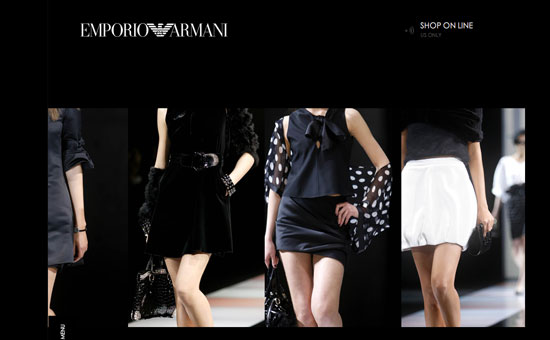 On Our Radar: Emporio Armani Opens Online Boutique