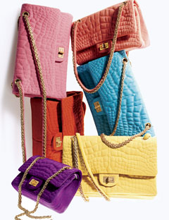 The Bag To Have: Chanel Crocodile Quilted Chain Bags