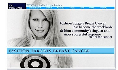 Fab Site: Fashion Targets Breast Cancer