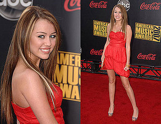 2007 American Music Awards: Miley Cyrus