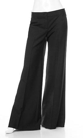 Fab Finger Discount: Theory Wide-Leg Tailored Pants
