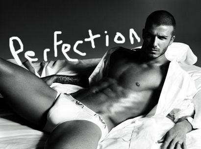Becks in his pants!!!!!!!!!
