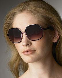 Chloe�-� Metal Sunglasses �-� Bergdorf Goodman