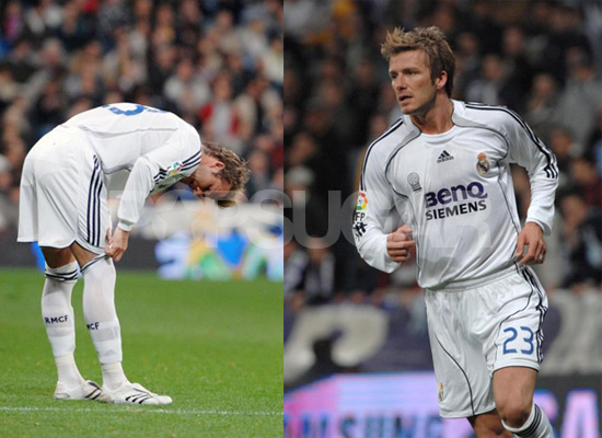 Oh No! Beckham Gets Injured