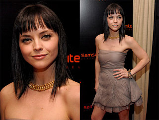 Christina Ricci Doesn't Travel Light