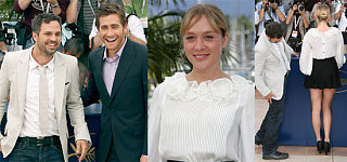 Jake, Chloe and Mark Smile Big In Cannes